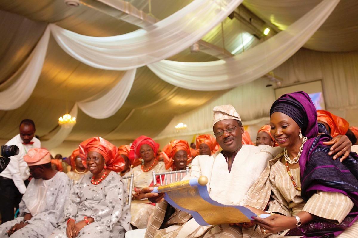 SLAM2014 Traditional Yoruba Wedding in Lagos Nigeria 35