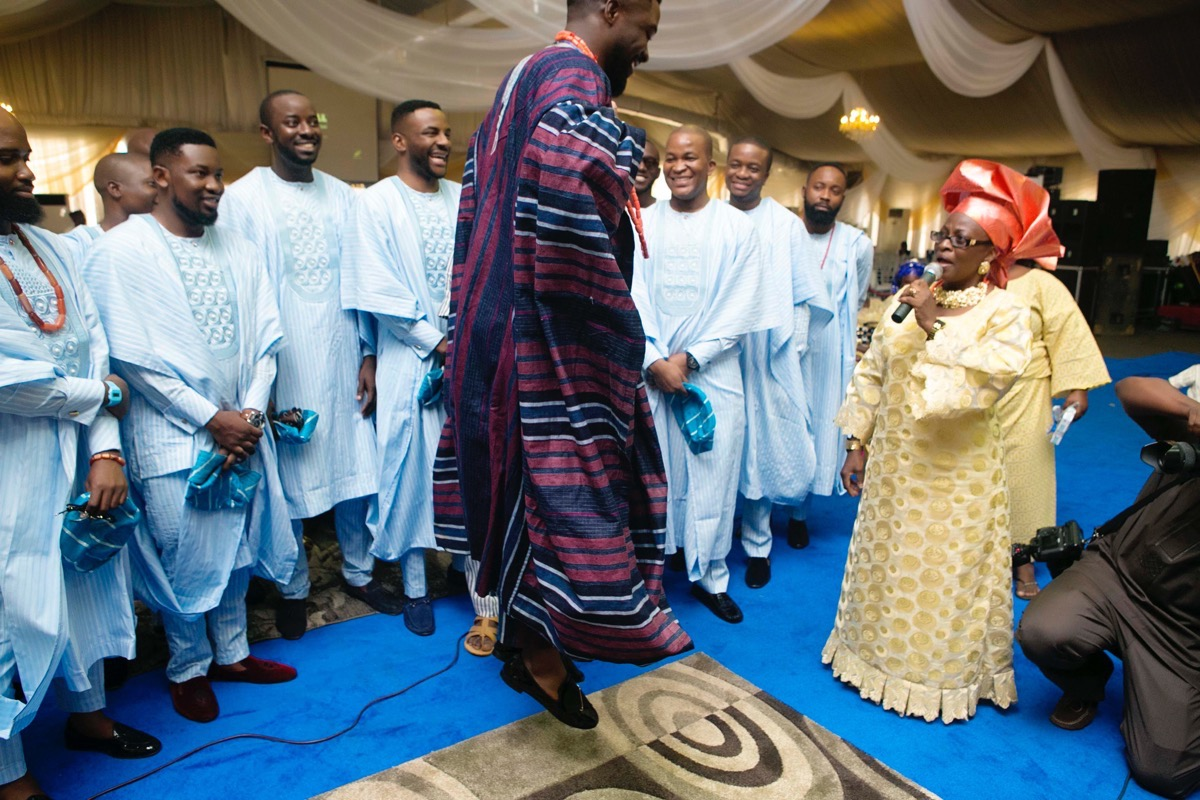 SLAM2014 Traditional Yoruba Wedding in Lagos Nigeria 53