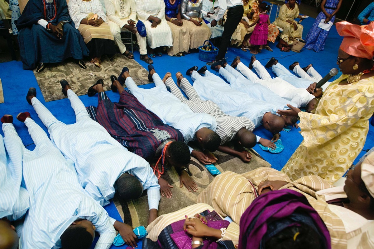 SLAM2014 Traditional Yoruba Wedding in Lagos Nigeria 60