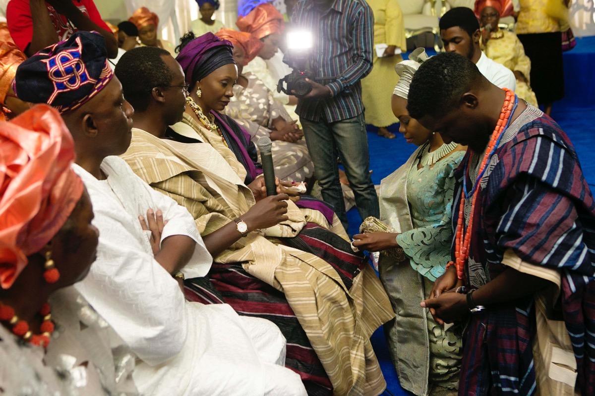 SLAM2014 Traditional Yoruba Wedding in Lagos Nigeria 84