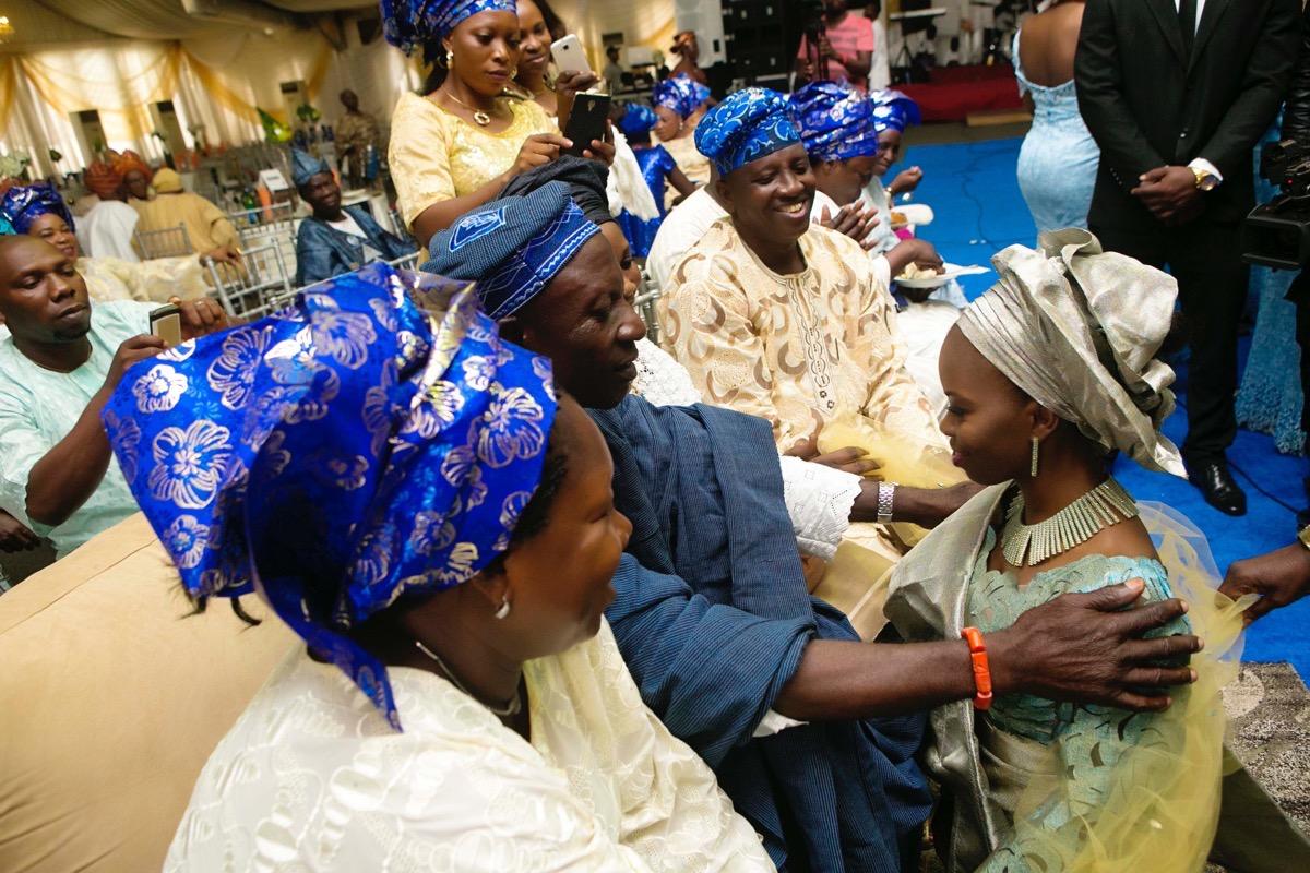 SLAM2014 Traditional Yoruba Wedding in Lagos Nigeria 98