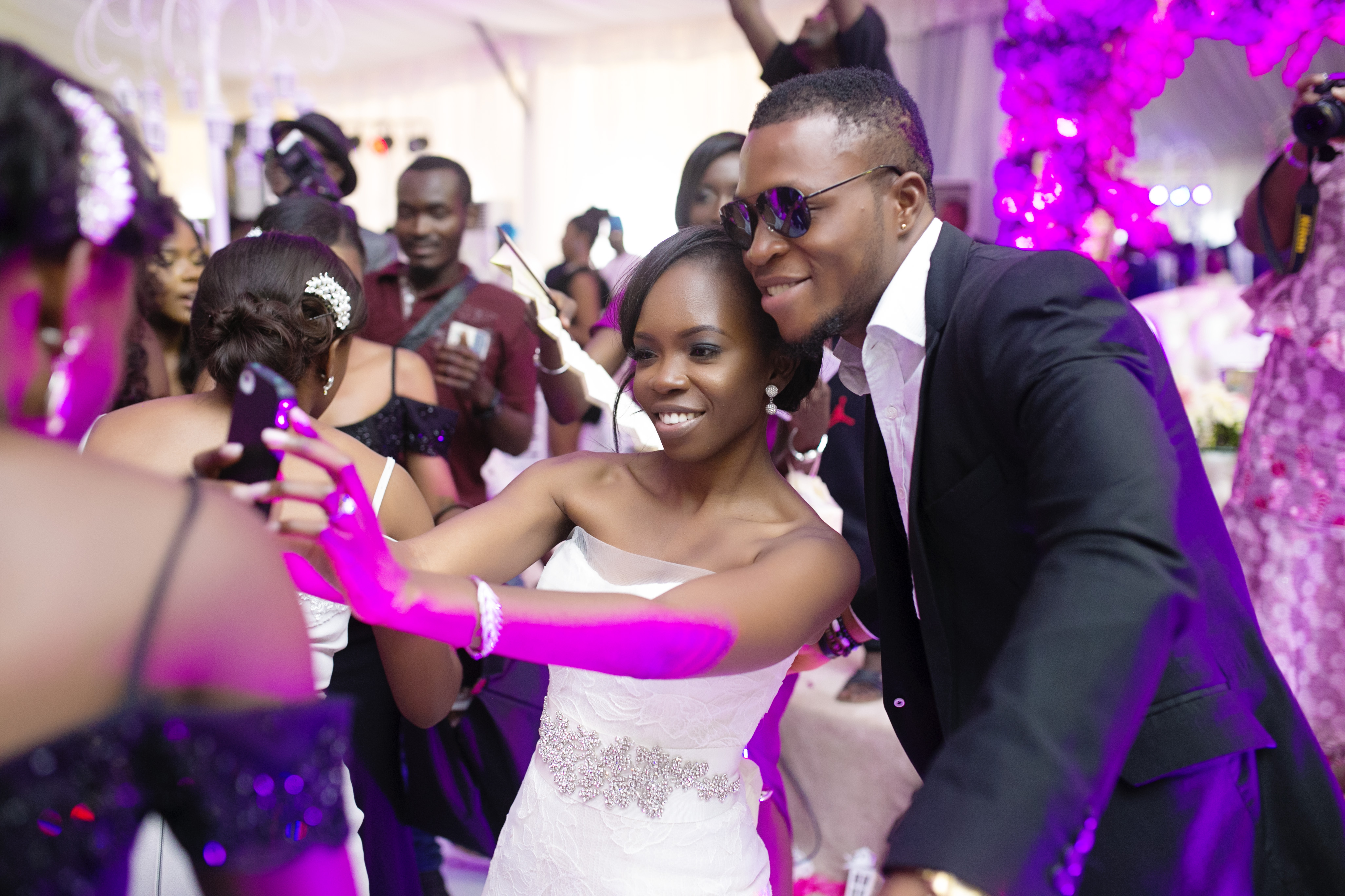 SLAM2014 Wedding at Ruby Gardens Lagos 2