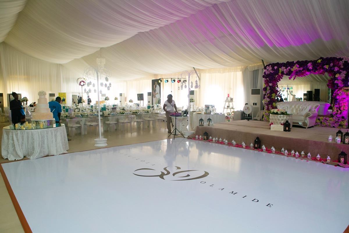 Slam2014 - Segi and Olamide Adedeji's Wedding in Ruby Gardens Nigeria 111