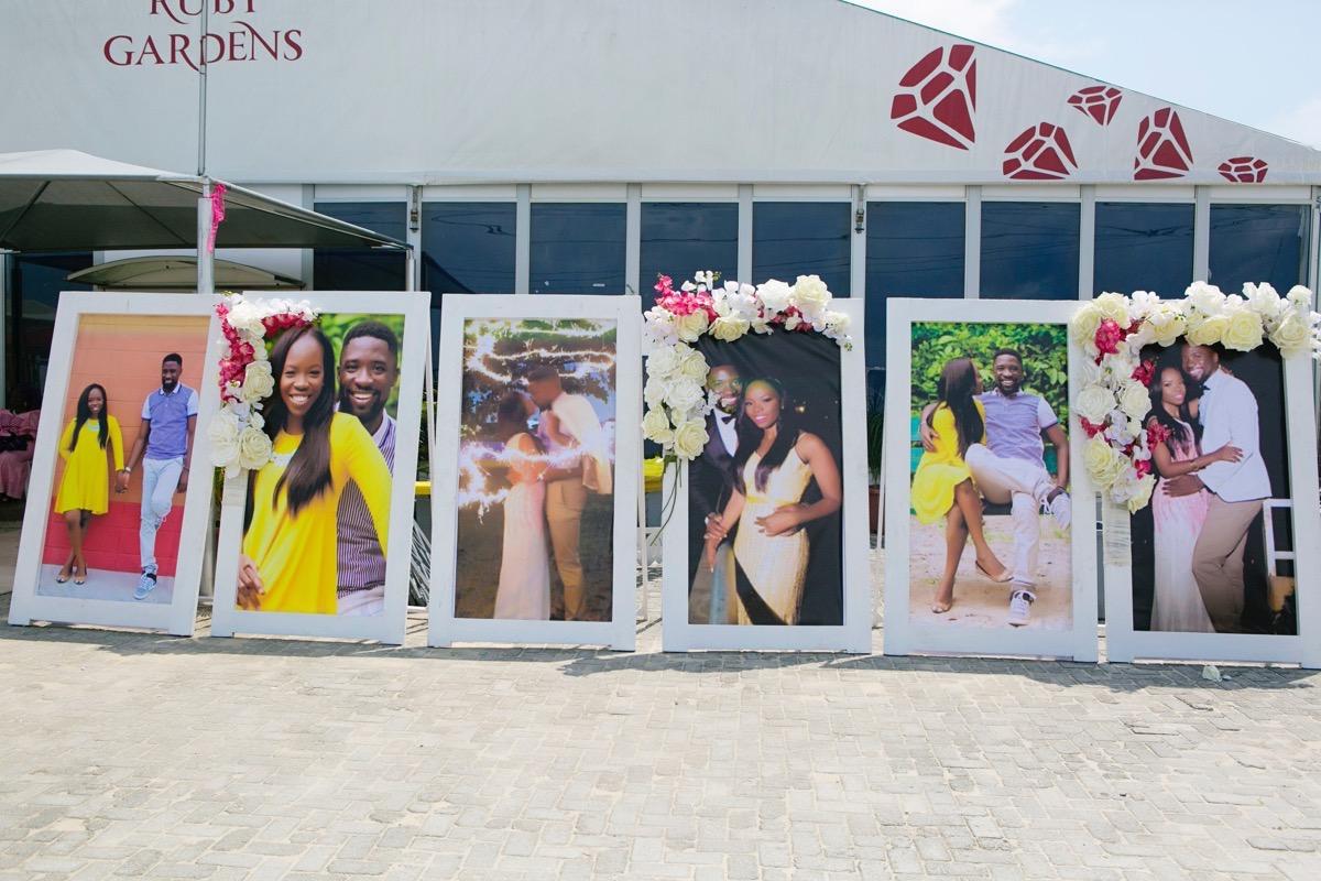 Slam2014 - Segi and Olamide Adedeji's Wedding in Ruby Gardens Nigeria 121
