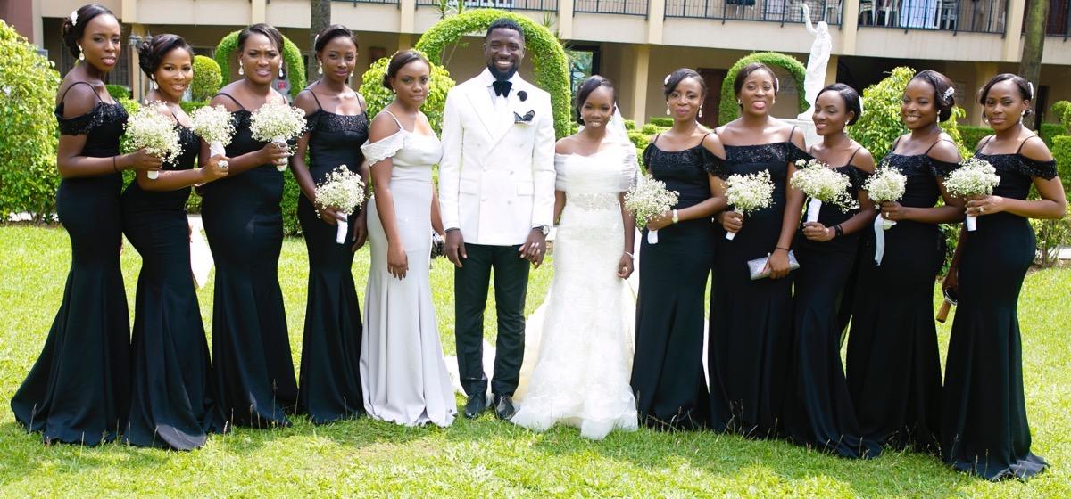 Slam2014 - Segi and Olamide Adedeji's Wedding in Ruby Gardens Nigeria 125