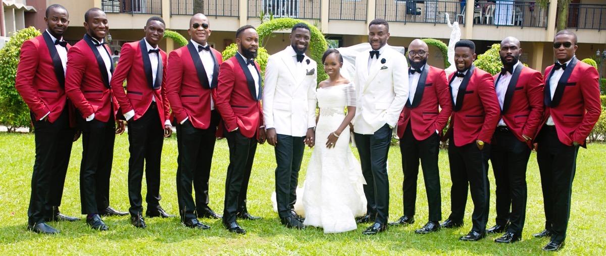 Slam2014 - Segi and Olamide Adedeji's Wedding in Ruby Gardens Nigeria 126