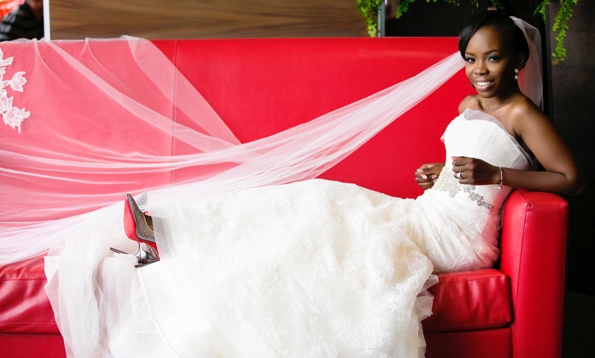Slam2014 - Segi and Olamide Adedeji's Wedding in Ruby Gardens Nigeria 137
