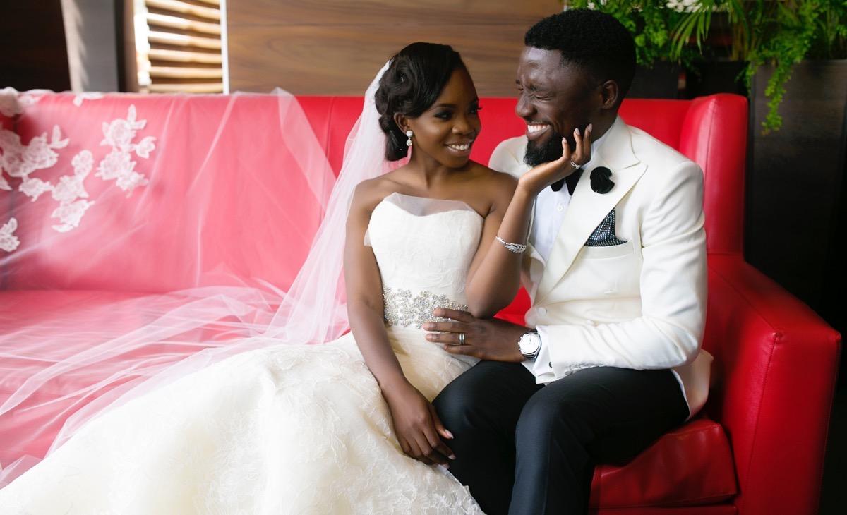 Slam2014 - Segi and Olamide Adedeji's Wedding in Ruby Gardens Nigeria 147