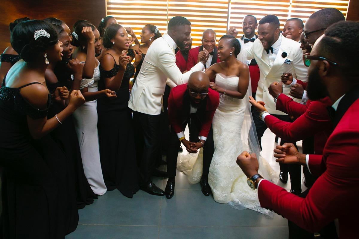 Slam2014 - Segi and Olamide Adedeji's Wedding in Ruby Gardens Nigeria 148