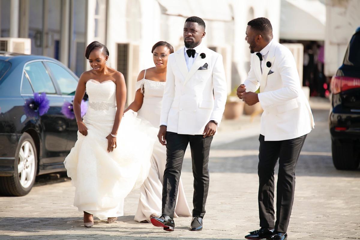 Slam2014 - Segi and Olamide Adedeji's Wedding in Ruby Gardens Nigeria 156