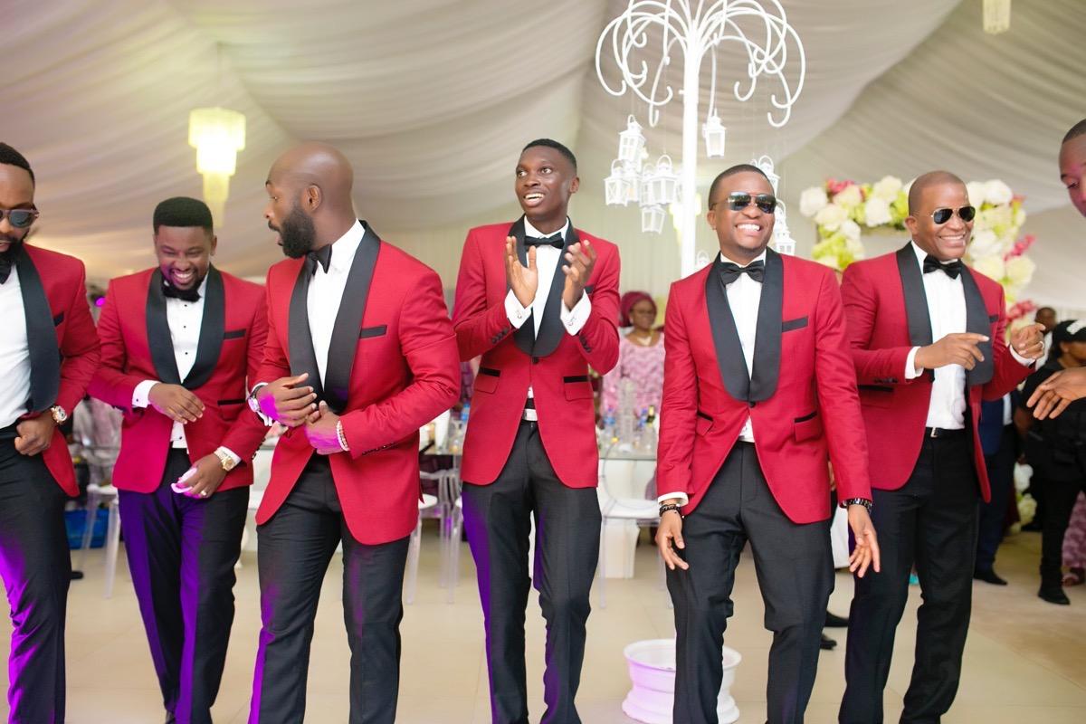 Slam2014 - Segi and Olamide Adedeji's Wedding in Ruby Gardens Nigeria 166