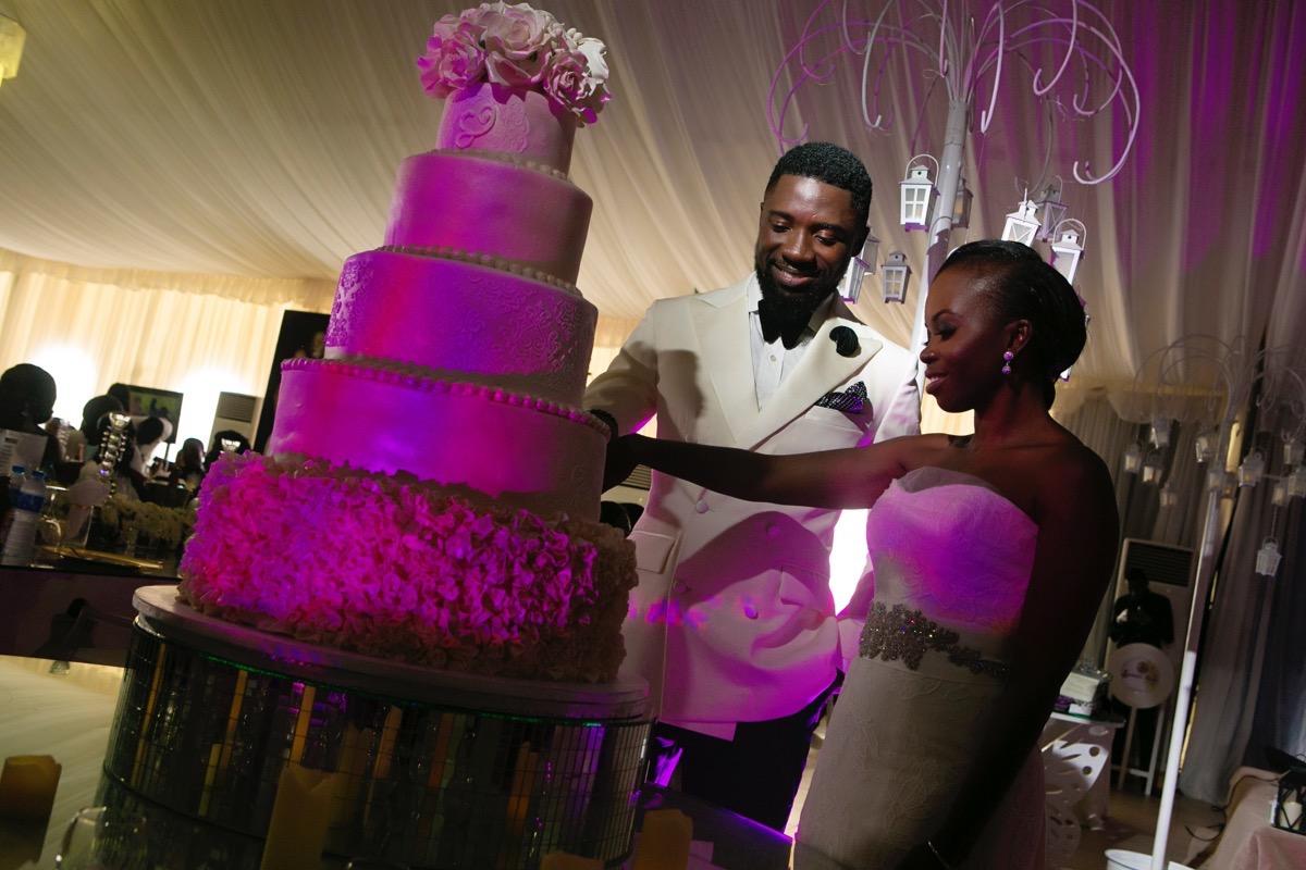 Slam2014 - Segi and Olamide Adedeji's Wedding in Ruby Gardens Nigeria 172