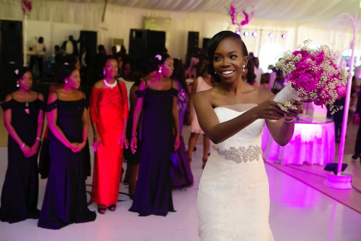 Slam2014 - Segi and Olamide Adedeji's Wedding in Ruby Gardens Nigeria 199