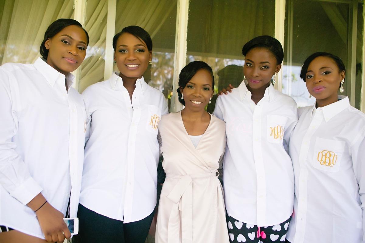 Slam2014 - Segi and Olamide Adedeji's Wedding in Ruby Gardens Nigeria 20
