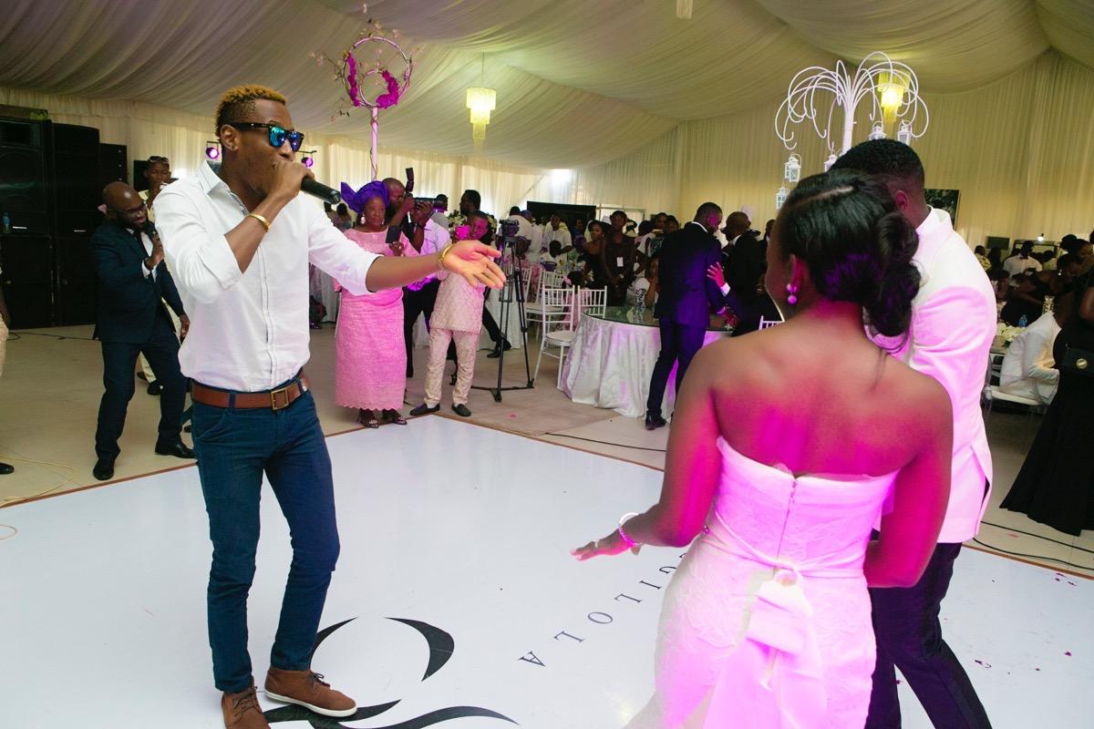 Slam2014 - Segi and Olamide Adedeji's Wedding in Ruby Gardens Nigeria 213