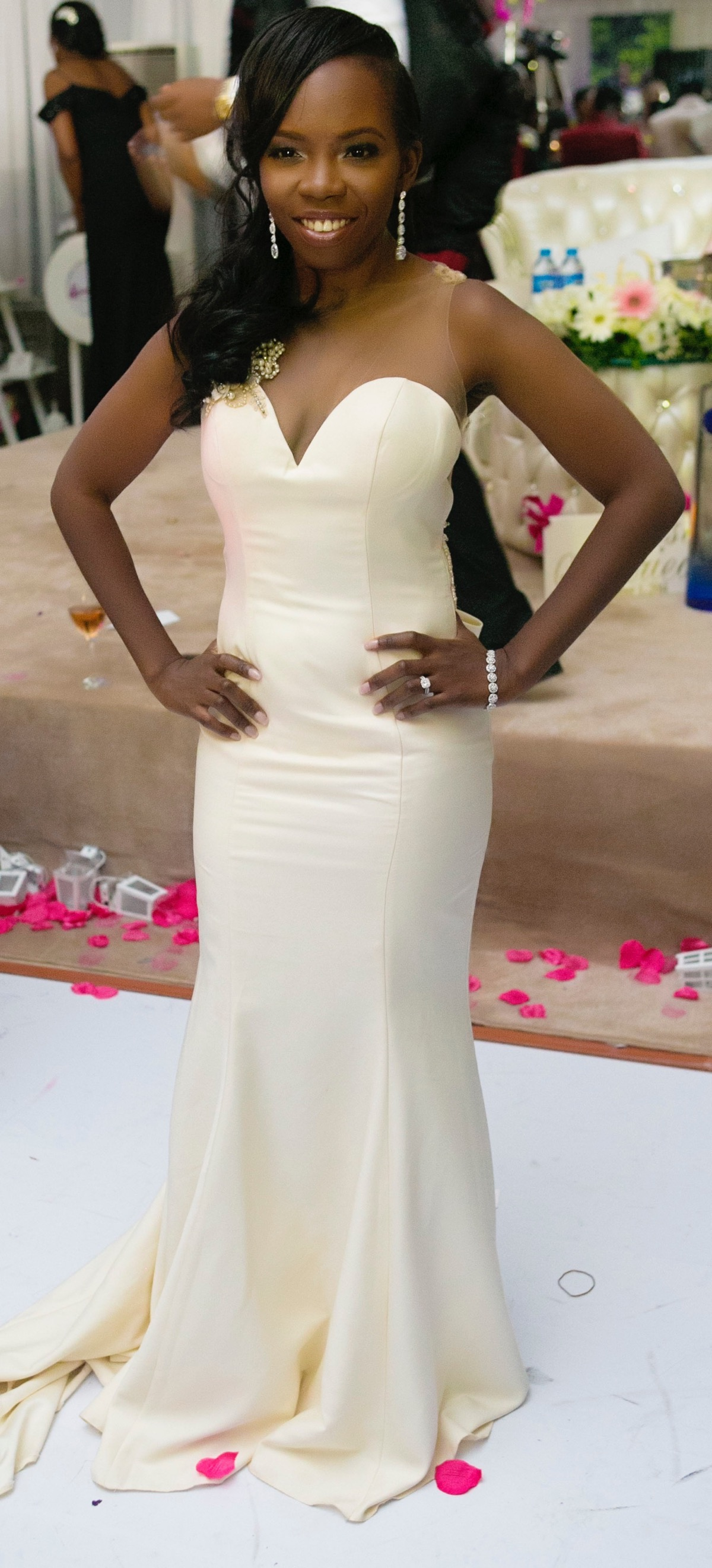 Slam2014 - Segi and Olamide Adedeji's Wedding in Ruby Gardens Nigeria 256