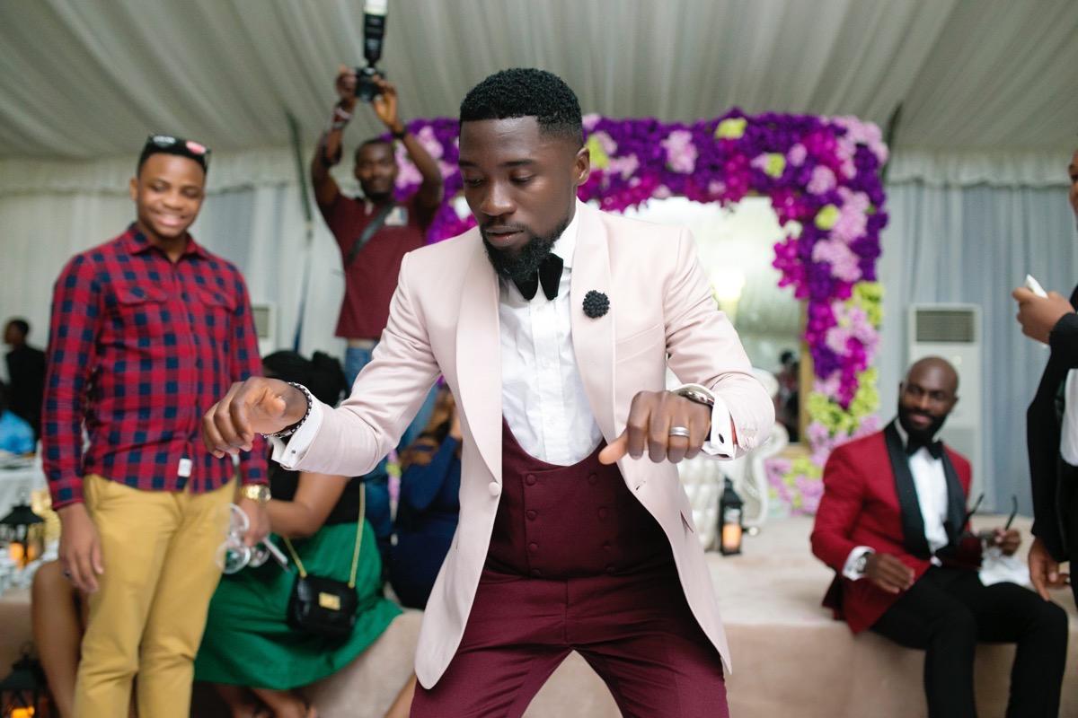 Slam2014 - Segi and Olamide Adedeji's Wedding in Ruby Gardens Nigeria 273