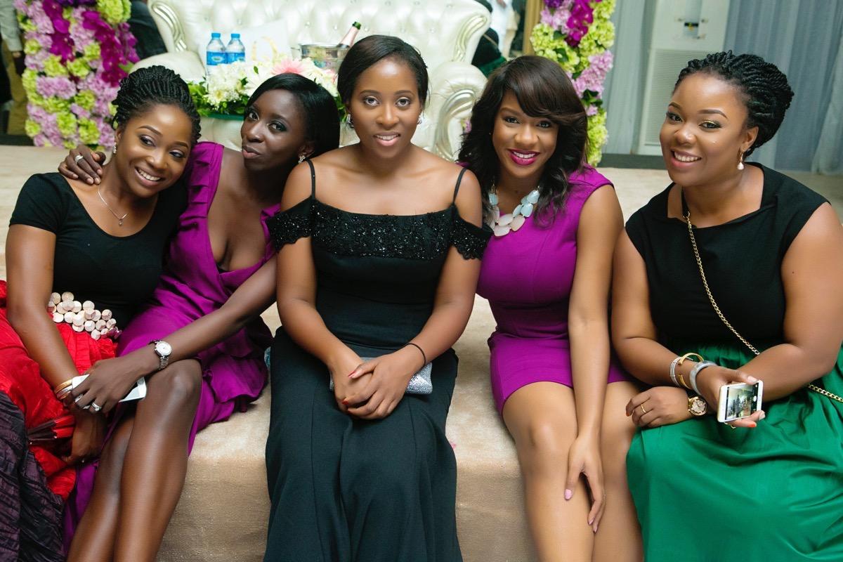 Slam2014 - Segi and Olamide Adedeji's Wedding in Ruby Gardens Nigeria 275
