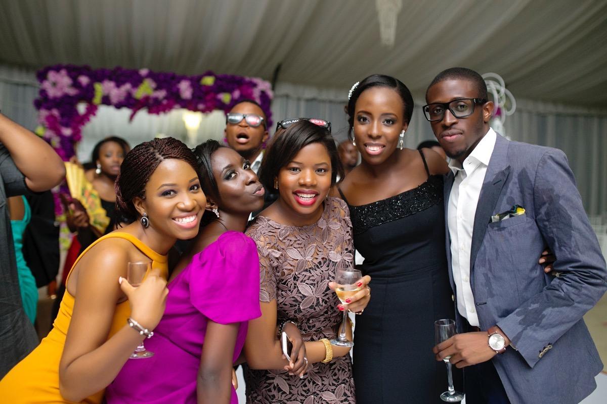 Slam2014 - Segi and Olamide Adedeji's Wedding in Ruby Gardens Nigeria 295