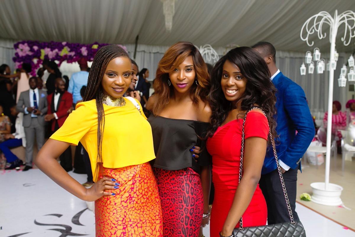 Slam2014 - Segi and Olamide Adedeji's Wedding in Ruby Gardens Nigeria 301