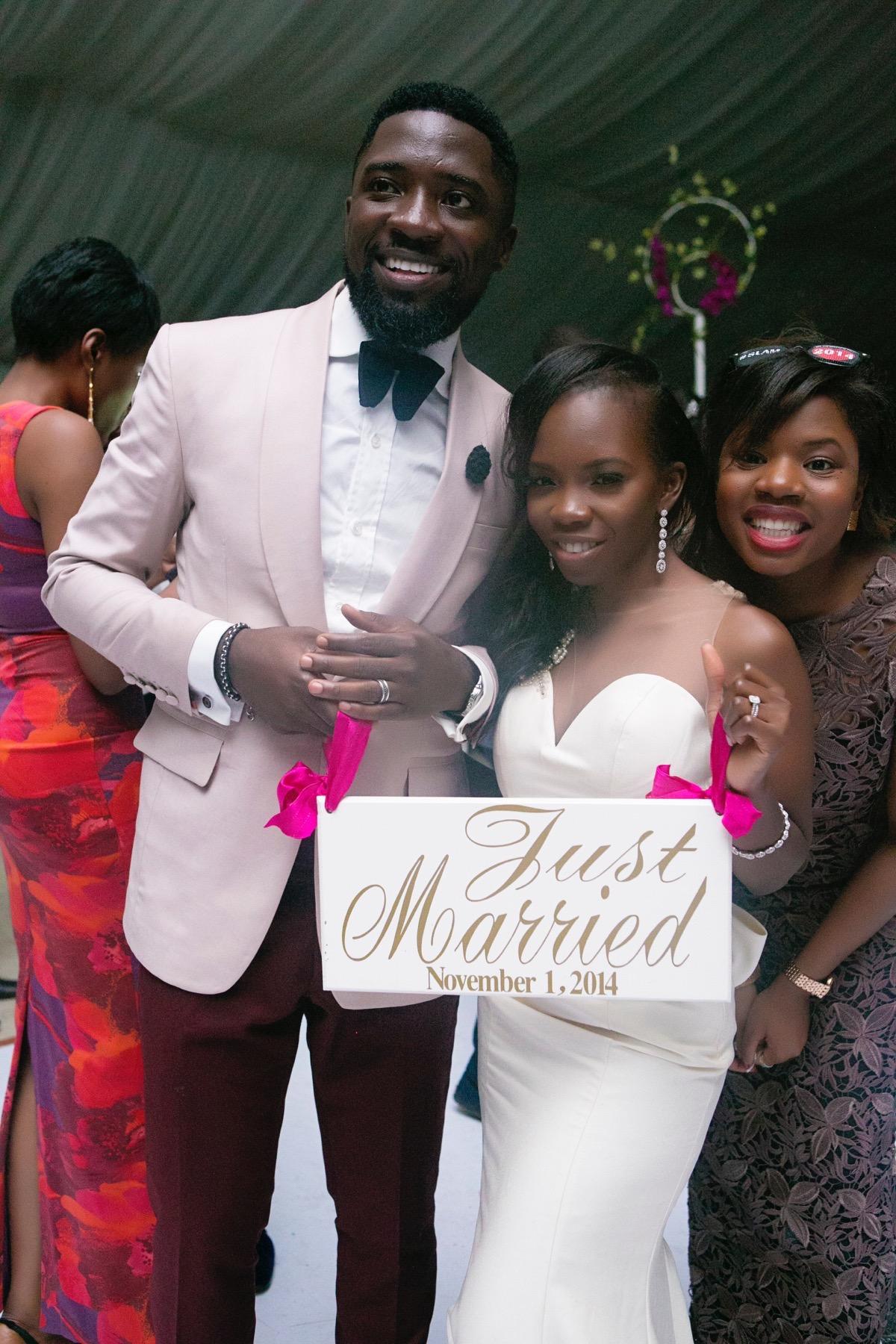 Slam2014 - Segi and Olamide Adedeji's Wedding in Ruby Gardens Nigeria 304
