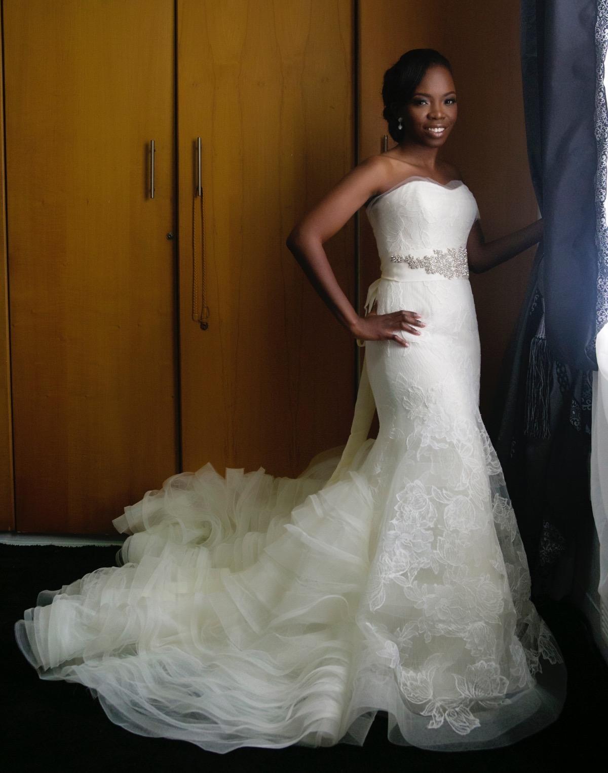 Slam2014 - Segi and Olamide Adedeji's Wedding in Ruby Gardens Nigeria 39