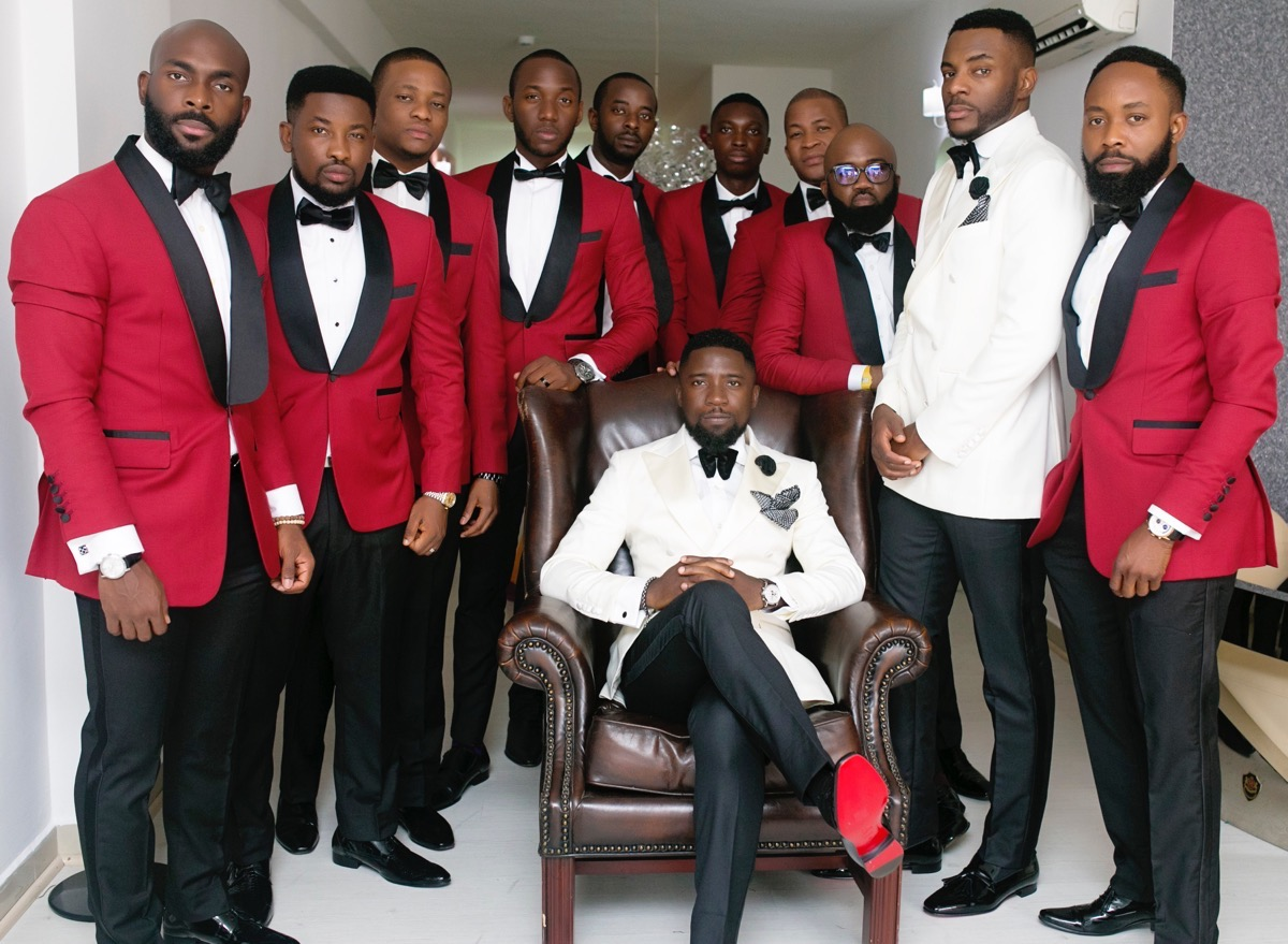 Slam2014 - Segi and Olamide Adedeji's Wedding in Ruby Gardens Nigeria 45