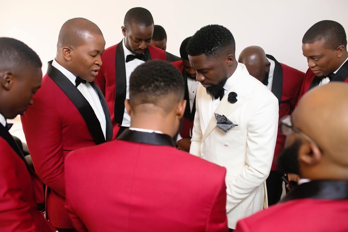 Slam2014 - Segi and Olamide Adedeji's Wedding in Ruby Gardens Nigeria 47