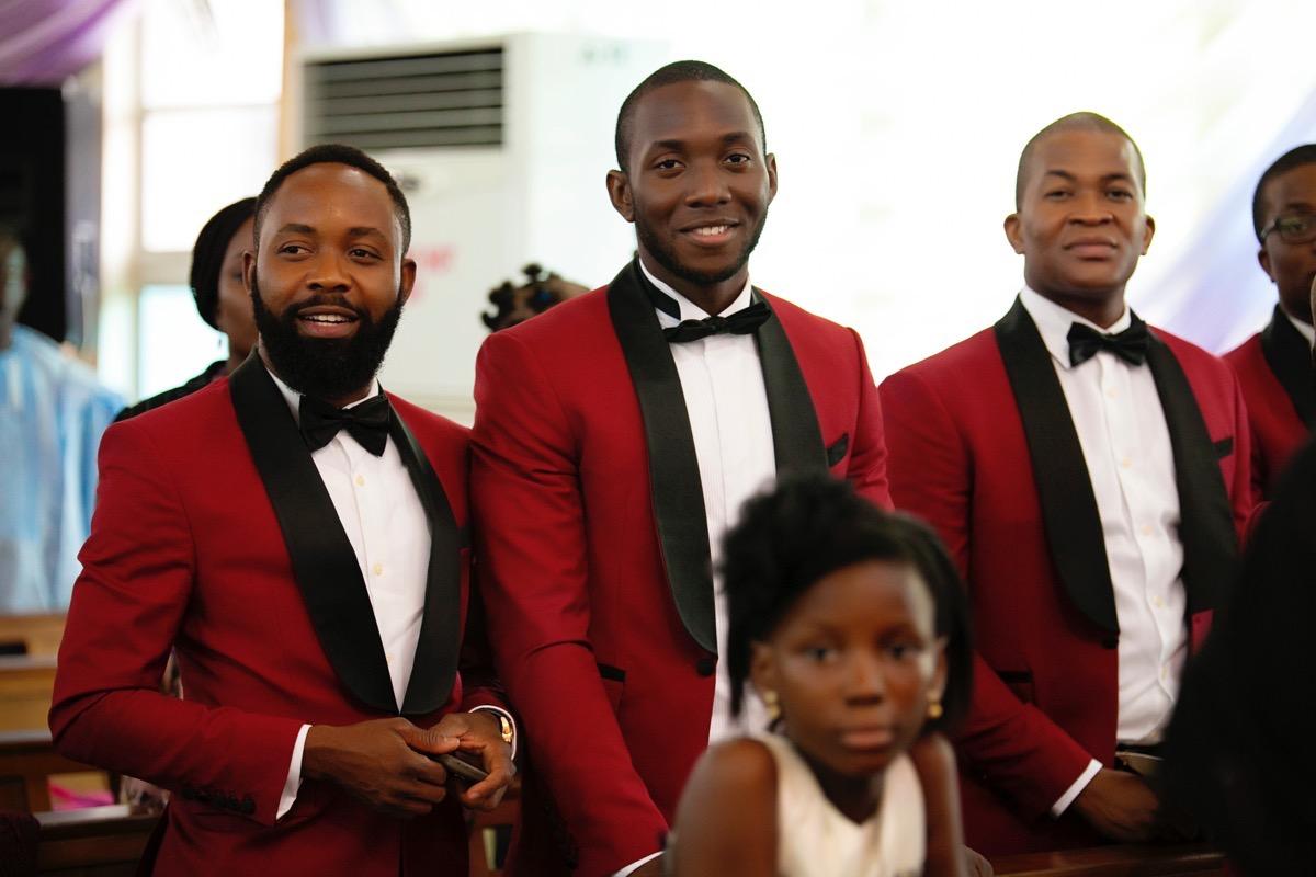 Slam2014 - Segi and Olamide Adedeji's Wedding in Ruby Gardens Nigeria 67