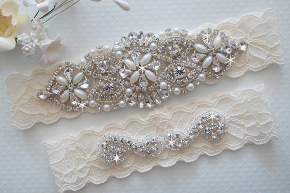 crystal garter