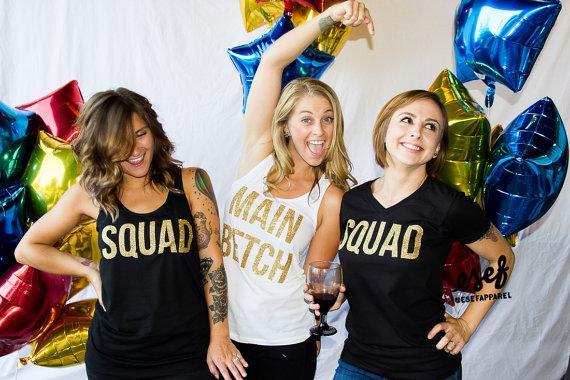 bachelorette party tank tops - aisle perfect