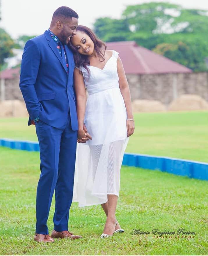 Ebuka and Cynthia's Engagement Shoot- aep photography