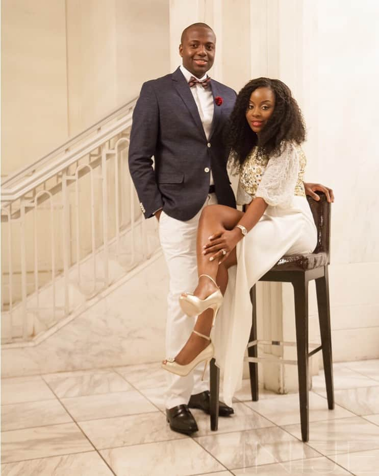 Glam engagement shoot-Photocredit: Charlton Inije