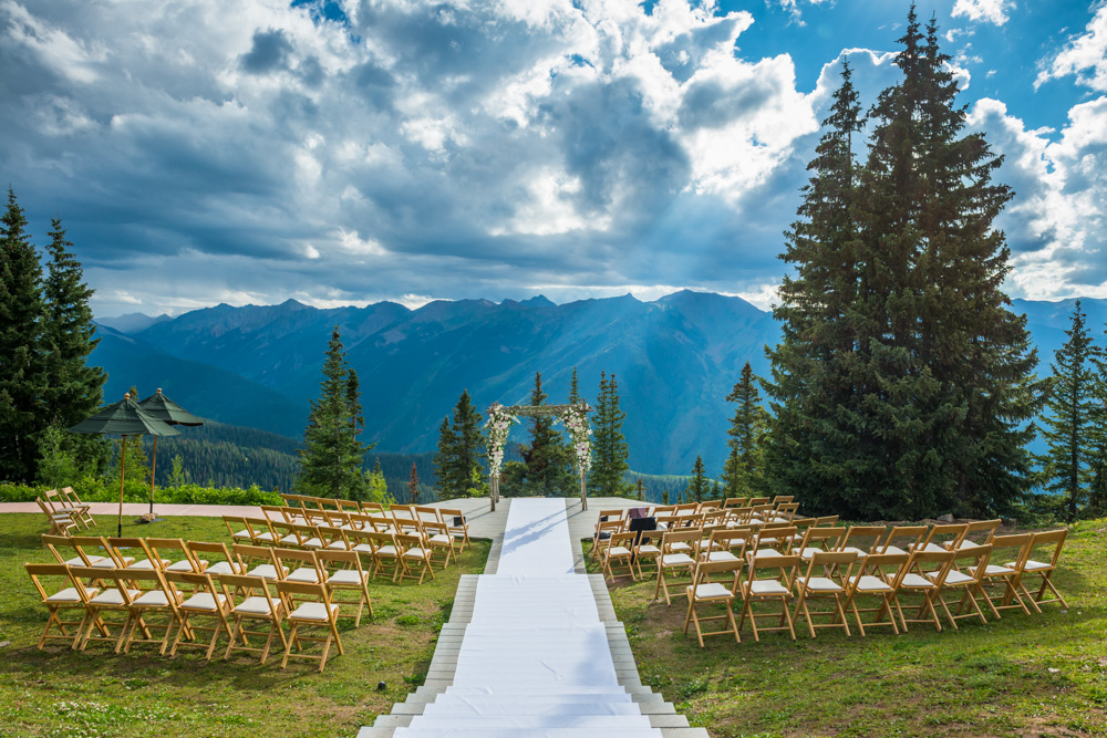 Plan your dream mountain wedding with the aspen chamber for Best colorado wedding venues