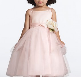 Tulle Ballerina Flower Girl Dress