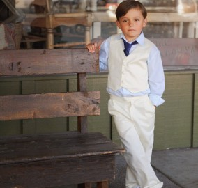 Vest Pants Wedding Ring Bearer