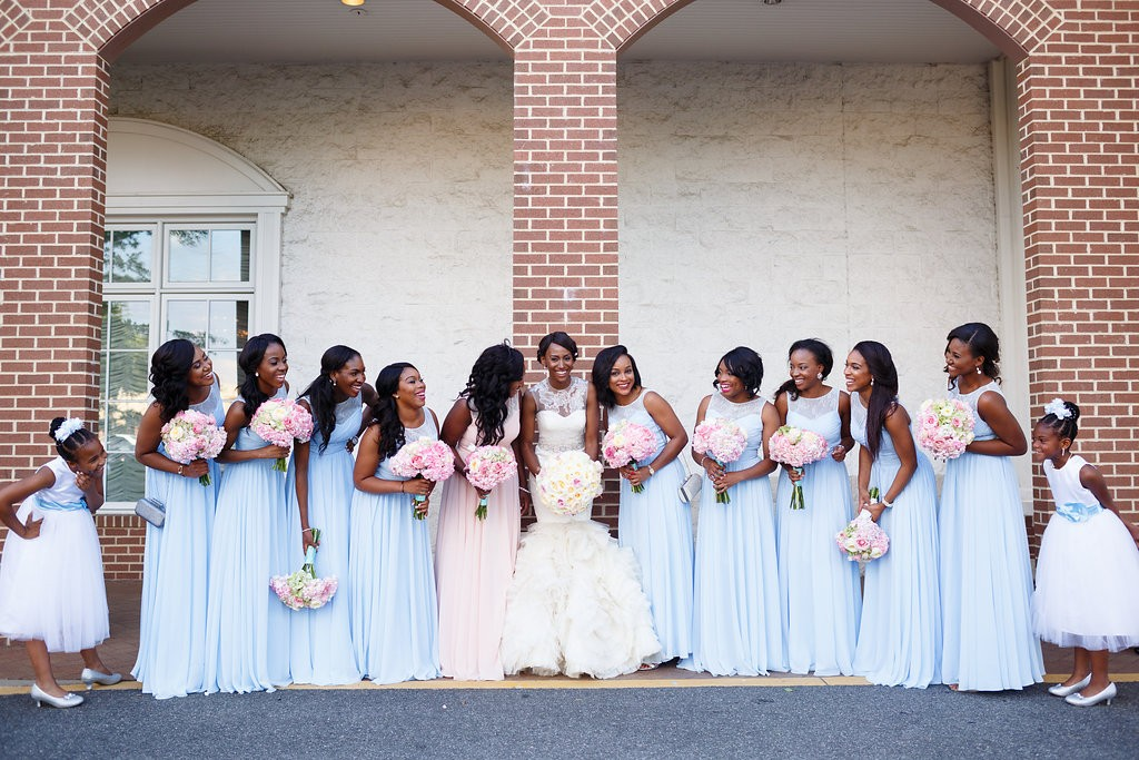 Chiso and Jeff's classic blue and pink wedding by wale ariztos photography 2