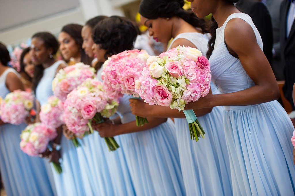 Classic Blue and Pink Wedding by Wale Ariztos 28