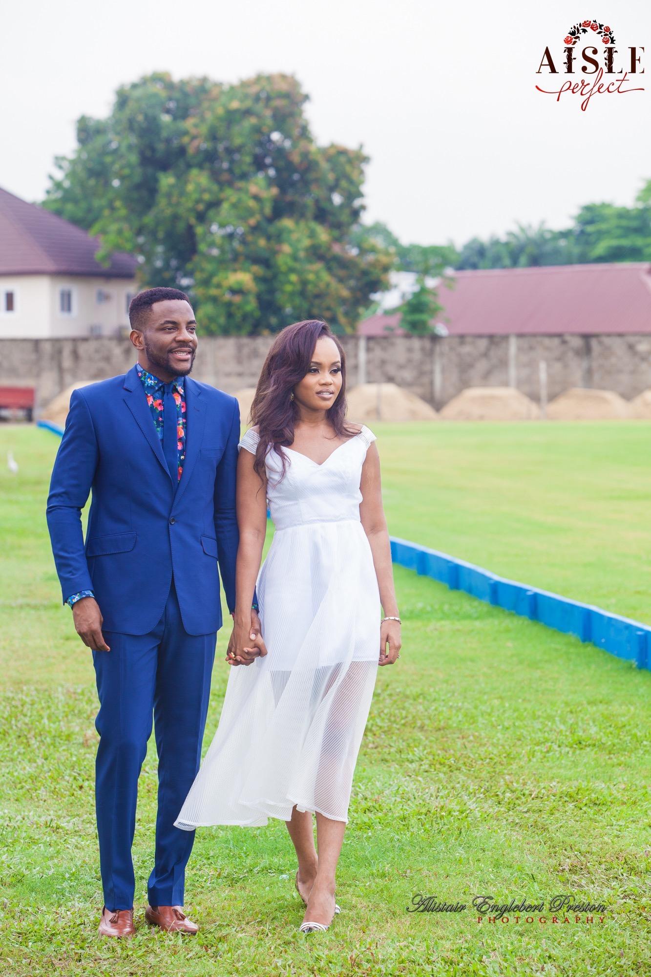 Ebuka and Cynthia- Lagos Engagement Shoot by AEP Photography 1