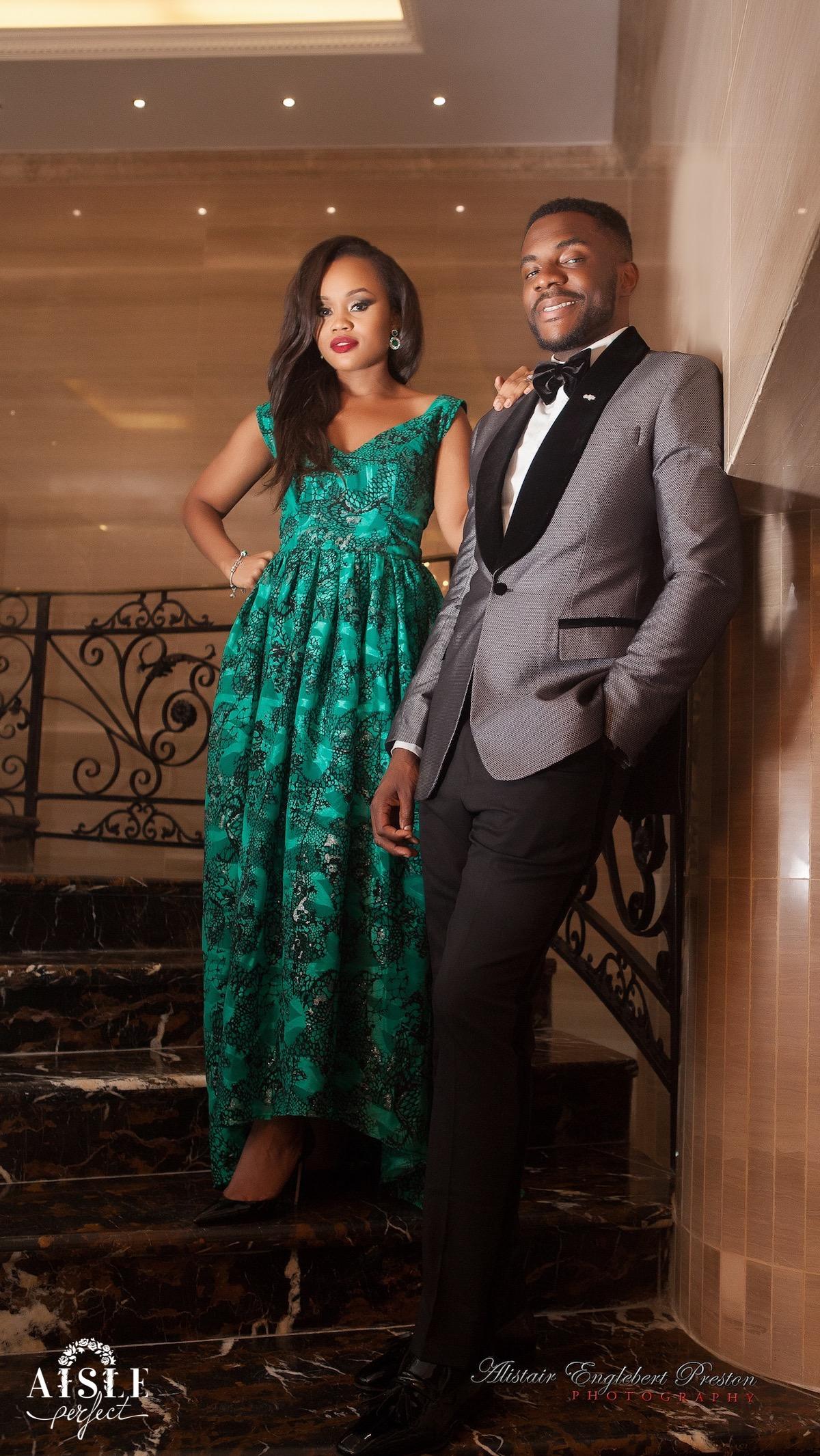 Ebuka and Cynthia- Lagos Engagement Shoot by AEP Photography 13