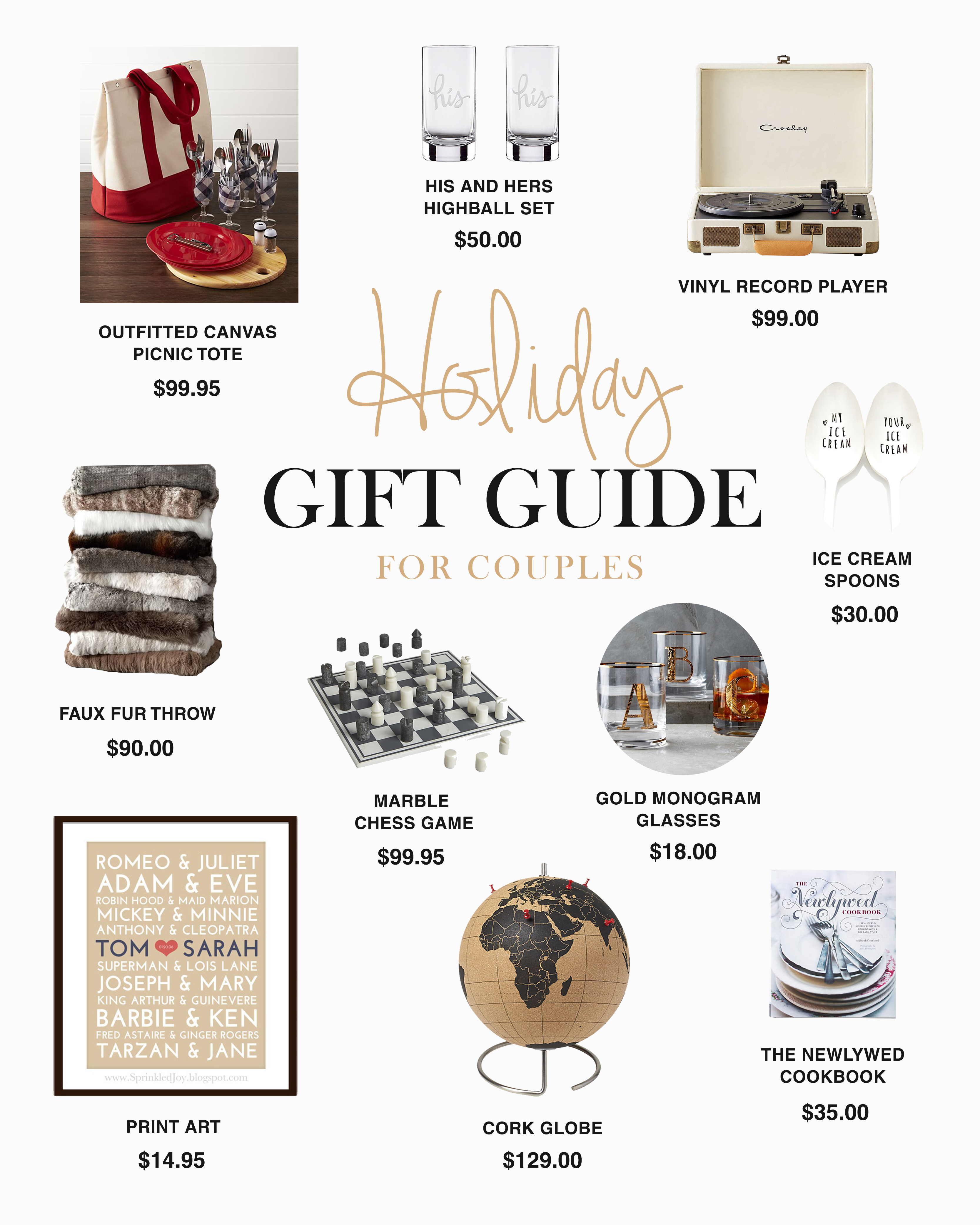 GIFT GUIDE - couples