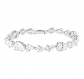 Crystal Craze Bracelet Wedding Jewelry