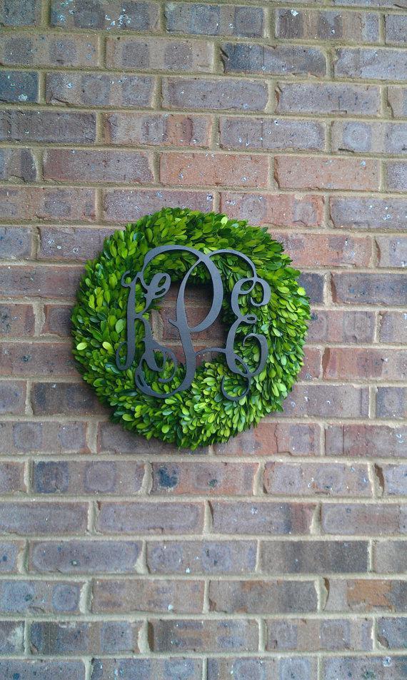 Outdoor wreath