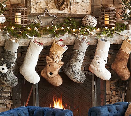 PB kids stockings