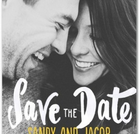 Save the Date Card Stationery Wedding