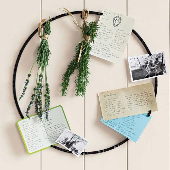 card wreath