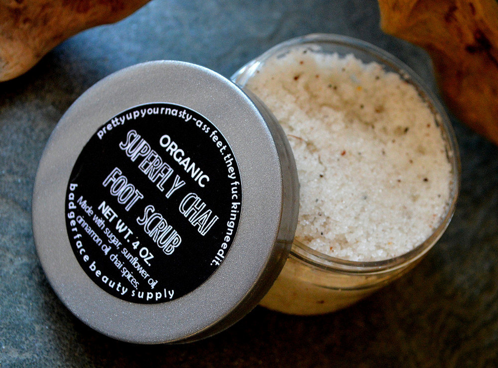 foot scrub bridesmaids gifts