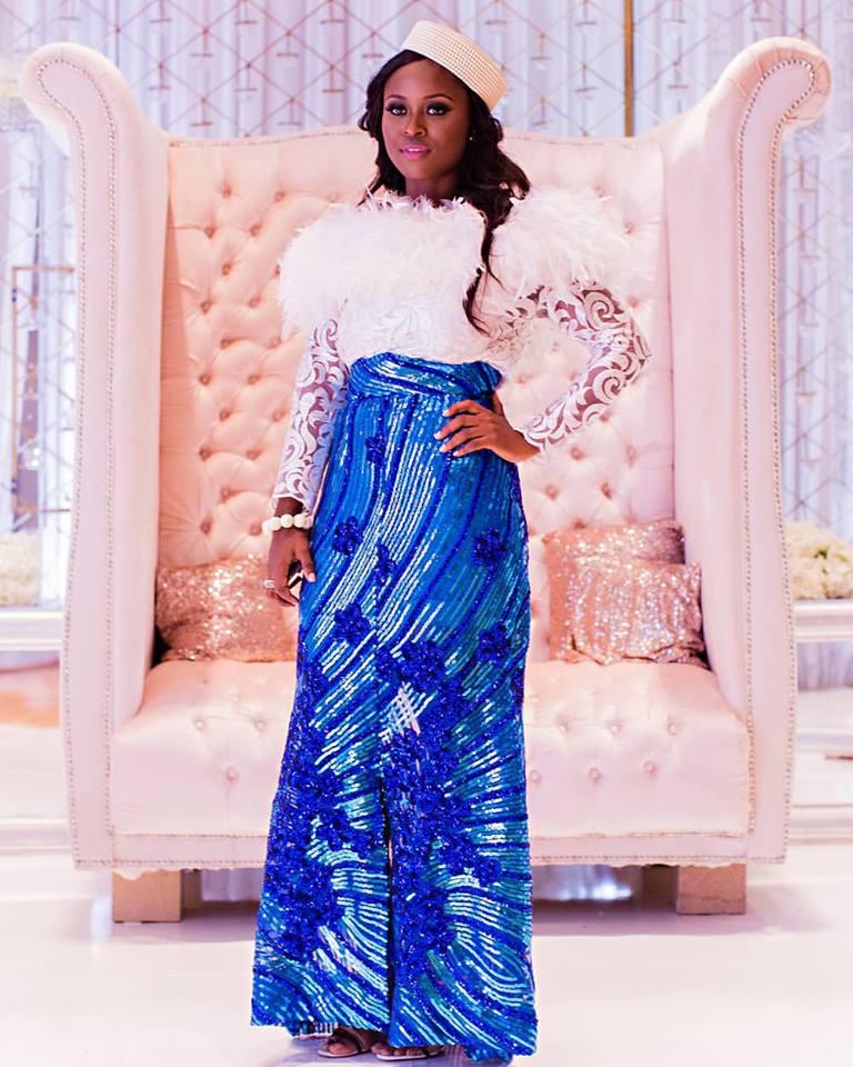 Feather Asoebi Traditional Nigerian Brides