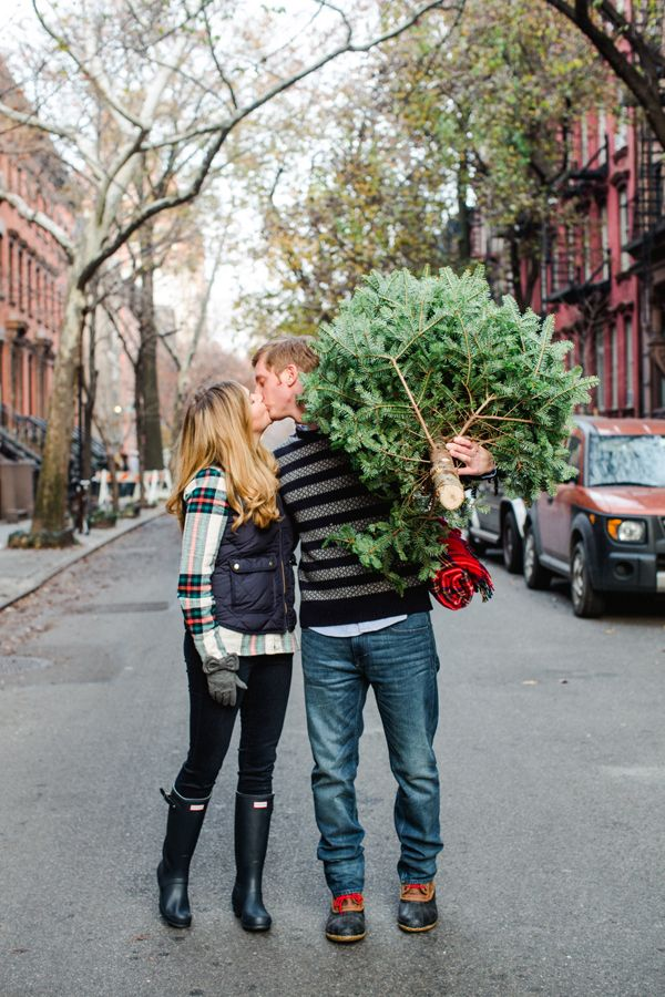 Holiday Engagement Pictures - Kate Headley Photography