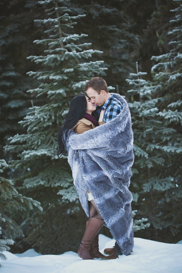 Snowy Engagement Session by White Album Weddings-1